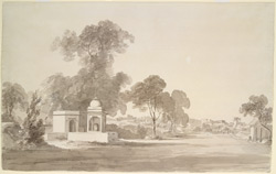 Roadside shrine near Mathura (U.P.). c.2 February 1789